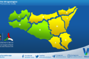 Sicilia: avviso rischio idrogeologico per martedì 23 marzo 2021