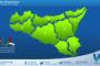 Temperature previste per lunedì 29 marzo 2021 in Sicilia