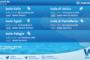 Sicilia: condizioni meteo-marine previste per lunedì 22 marzo 2021