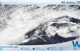 Sicilia: immagine satellitare Nasa di venerdì 05 marzo 2021