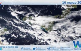 Sicilia: immagine satellitare Nasa di martedì 16 marzo 2021