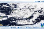 Sicilia: immagine satellitare Nasa di giovedì 18 marzo 2021