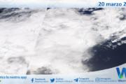 Sicilia: immagine satellitare Nasa di sabato 20 marzo 2021