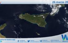 Sicilia: immagine satellitare Nasa di venerdì 26 marzo 2021