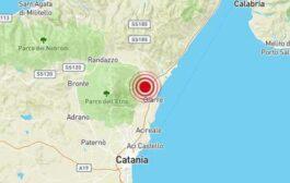 Sicilia, Etna: sciame sismico in atto, oggi 21/03/2021, nei pressi di Sant'Alfio (CT)