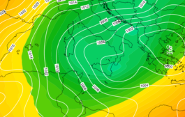 Sicilia: irruzione artica e neve a quote collinari lunedì.