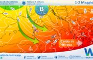 Sicilia, ultime ore di caldo: tante nubi, locali piogge e Maestrale in arrivo.