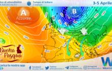 Sicilia: instabilità sparsa e calo termico tra Pasqua e Pasquetta.