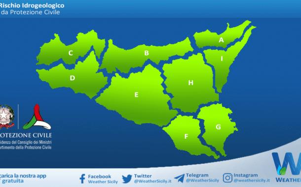 Sicilia: avviso rischio idrogeologico per domenica 11 aprile 2021