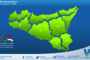 Temperature previste per lunedì 12 aprile 2021 in Sicilia