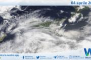 Sicilia: immagine satellitare Nasa di domenica 04 aprile 2021