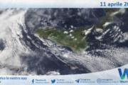 Sicilia: immagine satellitare Nasa di domenica 11 aprile 2021
