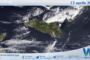 Sicilia: immagine satellitare Nasa di martedì 13 aprile 2021