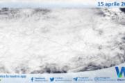 Sicilia: immagine satellitare Nasa di giovedì 15 aprile 2021