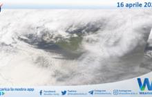 Sicilia: immagine satellitare Nasa di venerdì 16 aprile 2021