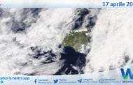 Sicilia: immagine satellitare Nasa di sabato 17 aprile 2021