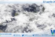 Sicilia: immagine satellitare Nasa di giovedì 22 aprile 2021