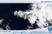 Sicilia: immagine satellitare Nasa di sabato 24 aprile 2021