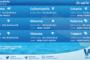 Sicilia: condizioni meteo-marine previste per mercoledì 21 aprile 2021
