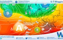 Sicilia: residua nuvolosità/instabilità ma si prepara un weekend pieno di sole.