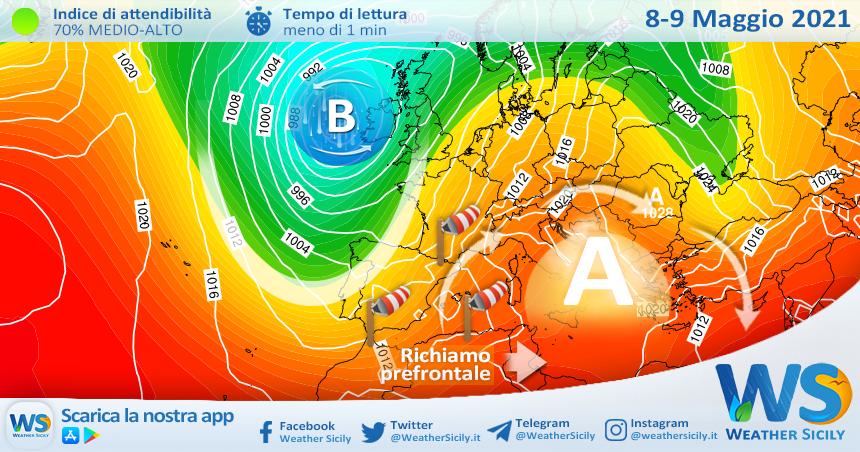 Sicilia, arriva un gran weekend di sole: temperature in rialzo!