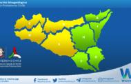 Sicilia: avviso rischio idrogeologico per mercoledì 05 maggio 2021