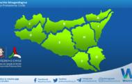 Sicilia: avviso rischio idrogeologico per lunedì 17 maggio 2021