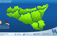 Sicilia: avviso rischio idrogeologico per lunedì 24 maggio 2021