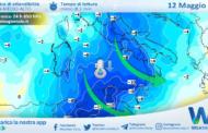 Sicilia, imminente crollo termico in arrivo: fino a 12 gradi in meno!
