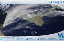 Sicilia: immagine satellitare Nasa di venerdì 14 maggio 2021
