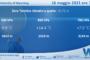 Sicilia: Radiosondaggio Trapani Birgi di domenica 16 maggio 2021 ore 12:00