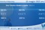 Sicilia: Radiosondaggio Trapani Birgi di sabato 22 maggio 2021 ore 12:00