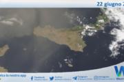 Sicilia: immagine satellitare Nasa di martedì 22 giugno 2021