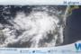 Sicilia: immagine satellitare Nasa di sabato 26 giugno 2021