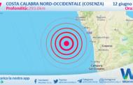 Sicilia: scossa di terremoto magnitudo 2.7 nei pressi di Costa Calabra nord-occidentale (Cosenza)