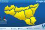 Sicilia: immagine satellitare Nasa di venerdì 16 luglio 2021