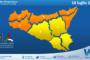 Emessa allerta meteo arancione su Sicilia settentrionale e occidentale per domenica 18 luglio 2021