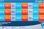 Temperature previste per giovedì 29 luglio 2021 in Sicilia