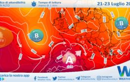 Sicilia: caldo in graduale aumento. Torna l'alta pressione africana!