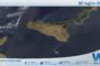 Sicilia: immagine satellitare Nasa di venerdì 30 luglio 2021