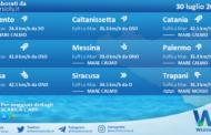 Sicilia: condizioni meteo-marine previste per venerdì 30 luglio 2021