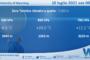 Sicilia: Radiosondaggio Trapani Birgi di sabato 10 luglio 2021 ore 00:00