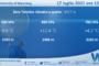 Sicilia: Radiosondaggio Trapani Birgi di sabato 17 luglio 2021 ore 00:00