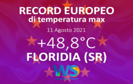 +48.8 gradi a Siracusa: un record europeo ampiamente annunciato da Weather Sicily.