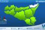 Sicilia: immagine satellitare Nasa di mercoledì 01 settembre 2021