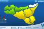 Sicilia: immagine satellitare Nasa di lunedì 06 settembre 2021