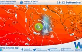 Sicilia: rischio forti temporali nel weekend!