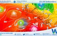 Sicilia: infiltrazioni fresche da est nelle prossime 24 ore.