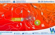 Sicilia: fine del caldo anomalo da martedì. Instabilità sparsa e Maestrale in imminente arrivo!