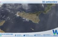 Sicilia: immagine satellitare Nasa di giovedì 16 settembre 2021